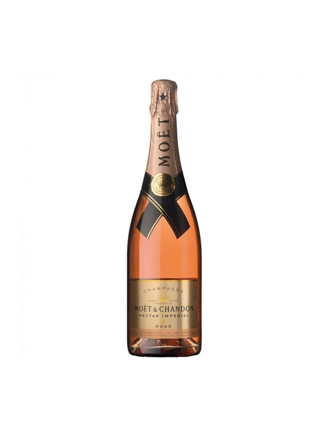 Sampanie Moët & Chandon Nectar Imperial Champagne, 0.75L, 12% alc., Franta