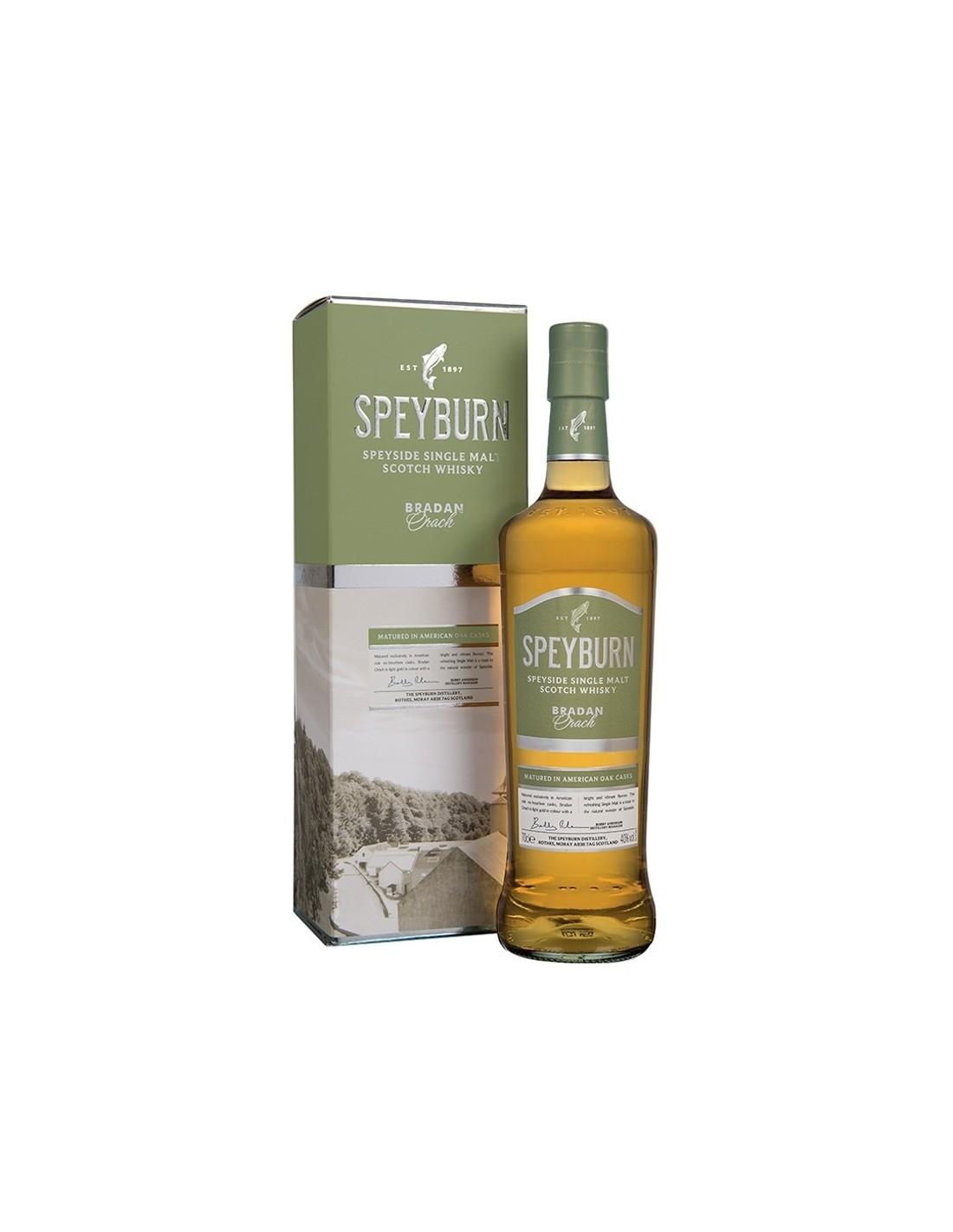 Whisky Speyburn Single Malt Bradan Orach, 40% alc., 0.7L, Scotia