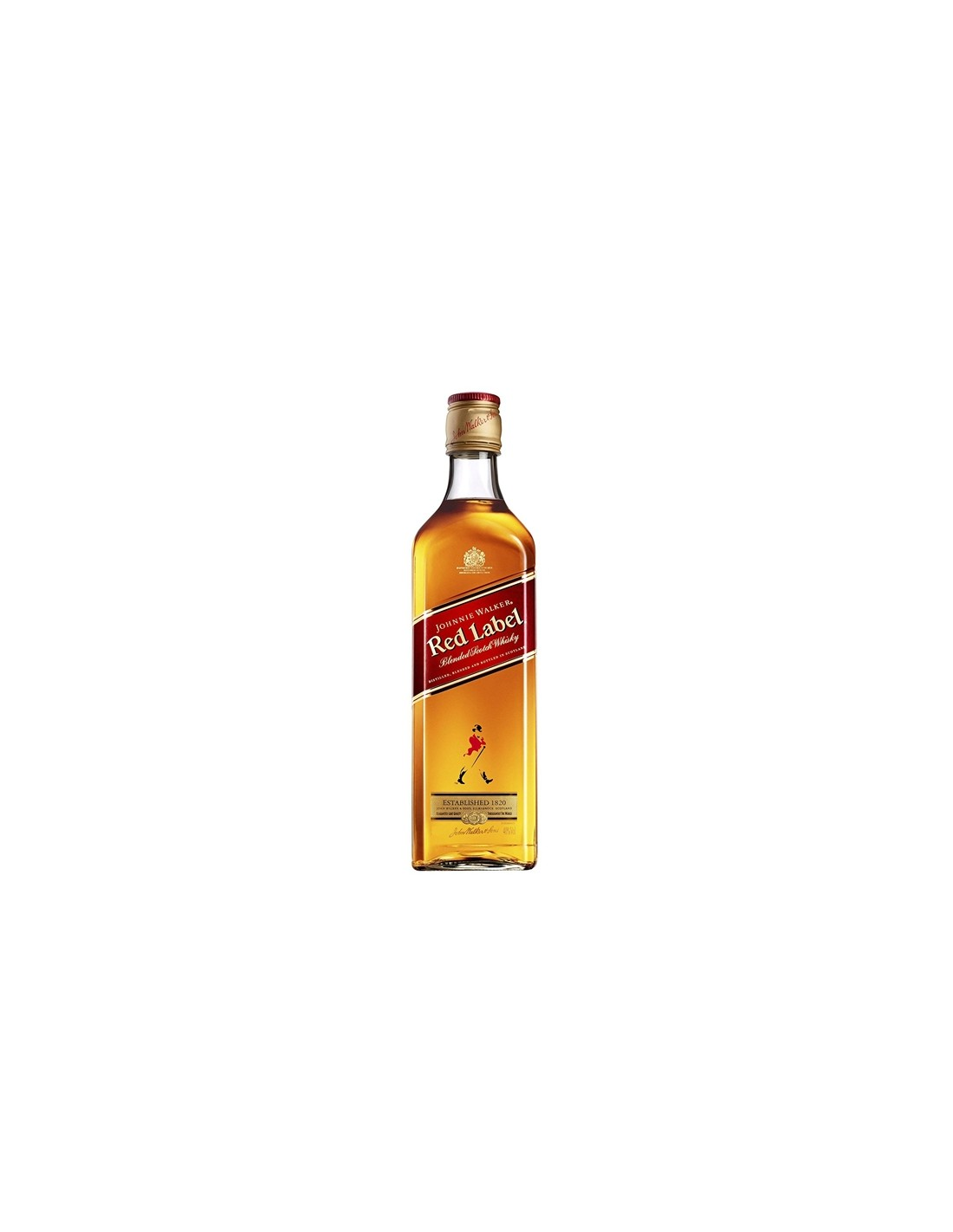 Whisky Johnnie Walker Red Label, 40% alc., 0.2L, Scotia