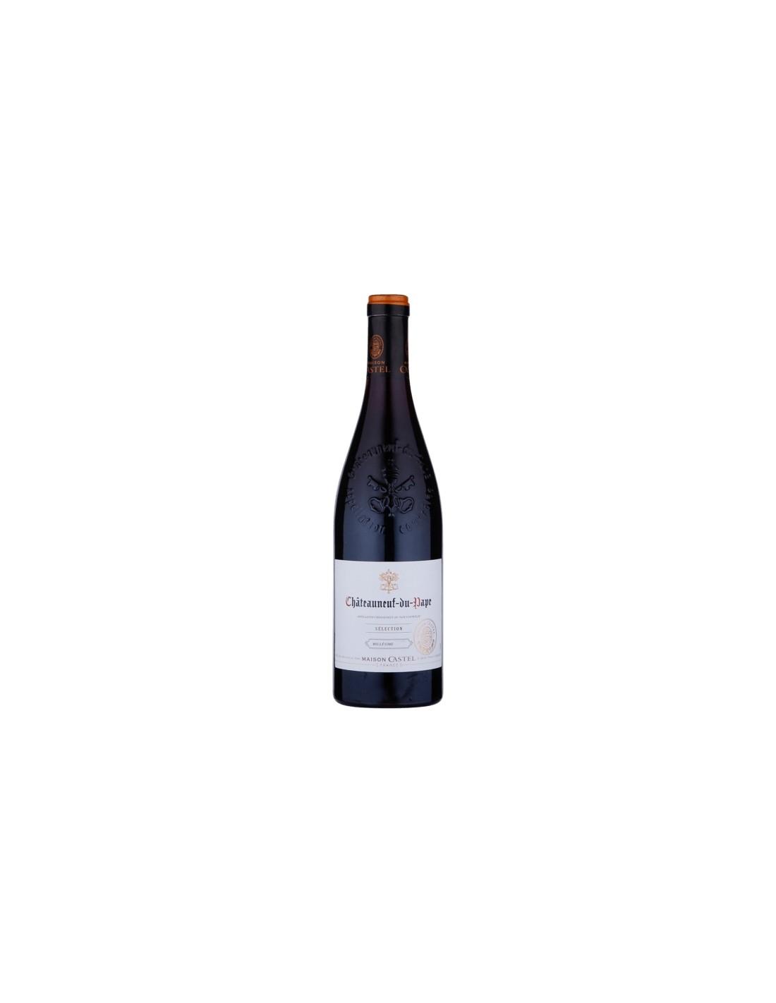 Vin rosu Maison Selection Castel Chateauneuf-du-Pape, 14.5% alc., 0.75L, Franta