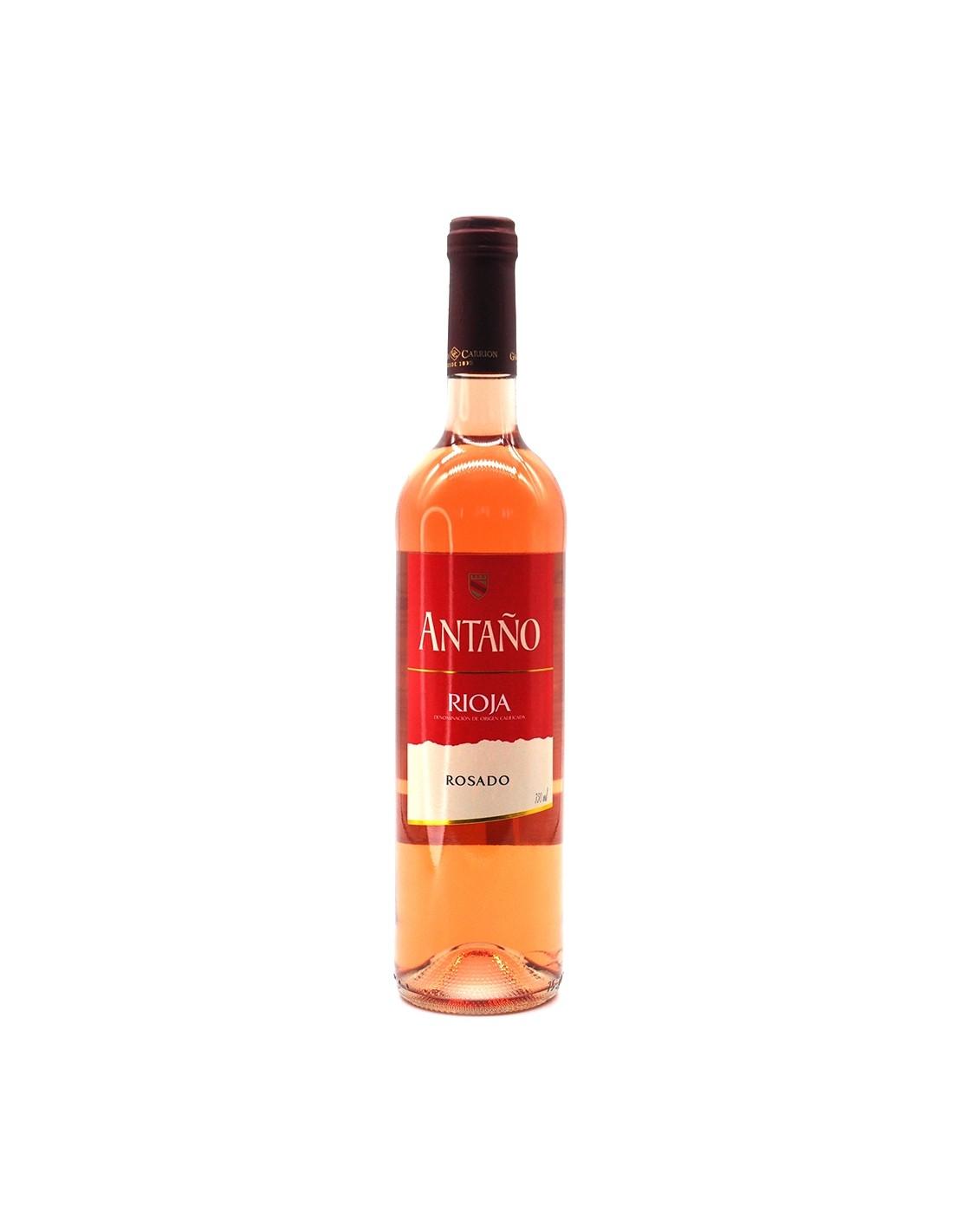 Vin roze Antano Rosado Rioja, 12% alc., 0.75L, Spania
