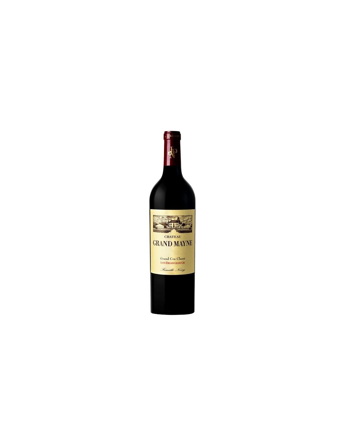 Vin rosu, Chateau Grand Mayne Saint-Emilion, 0.75L, 14.5% alc., Franta