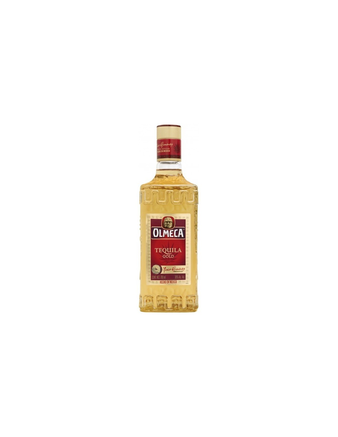 Tequila aurie Olmeca Gold 0.7L, 38% alc., Mexic