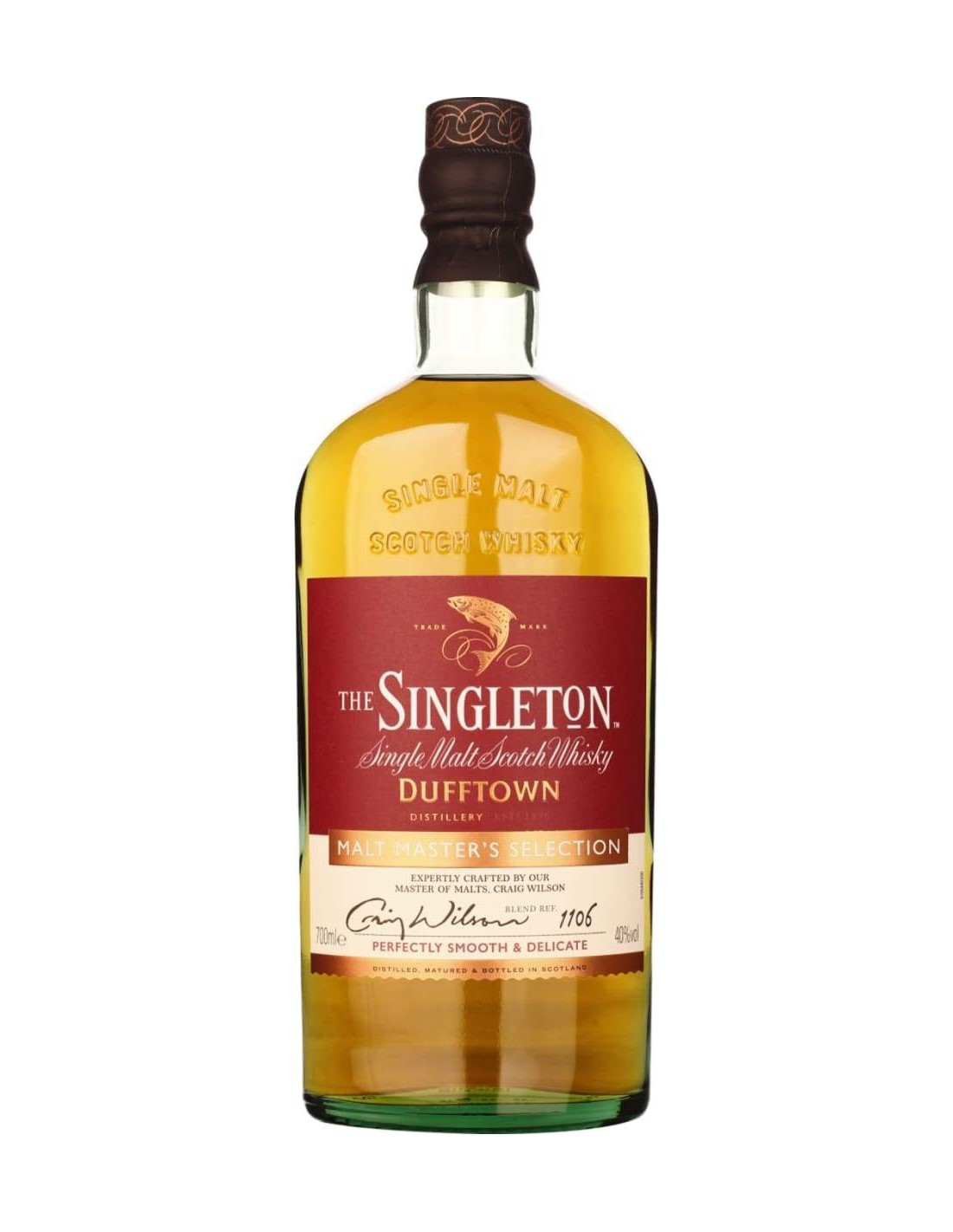 Whisky The Singleton Of Dufftown Malt Master Selection, 40% alc., 0.7L, Scotia