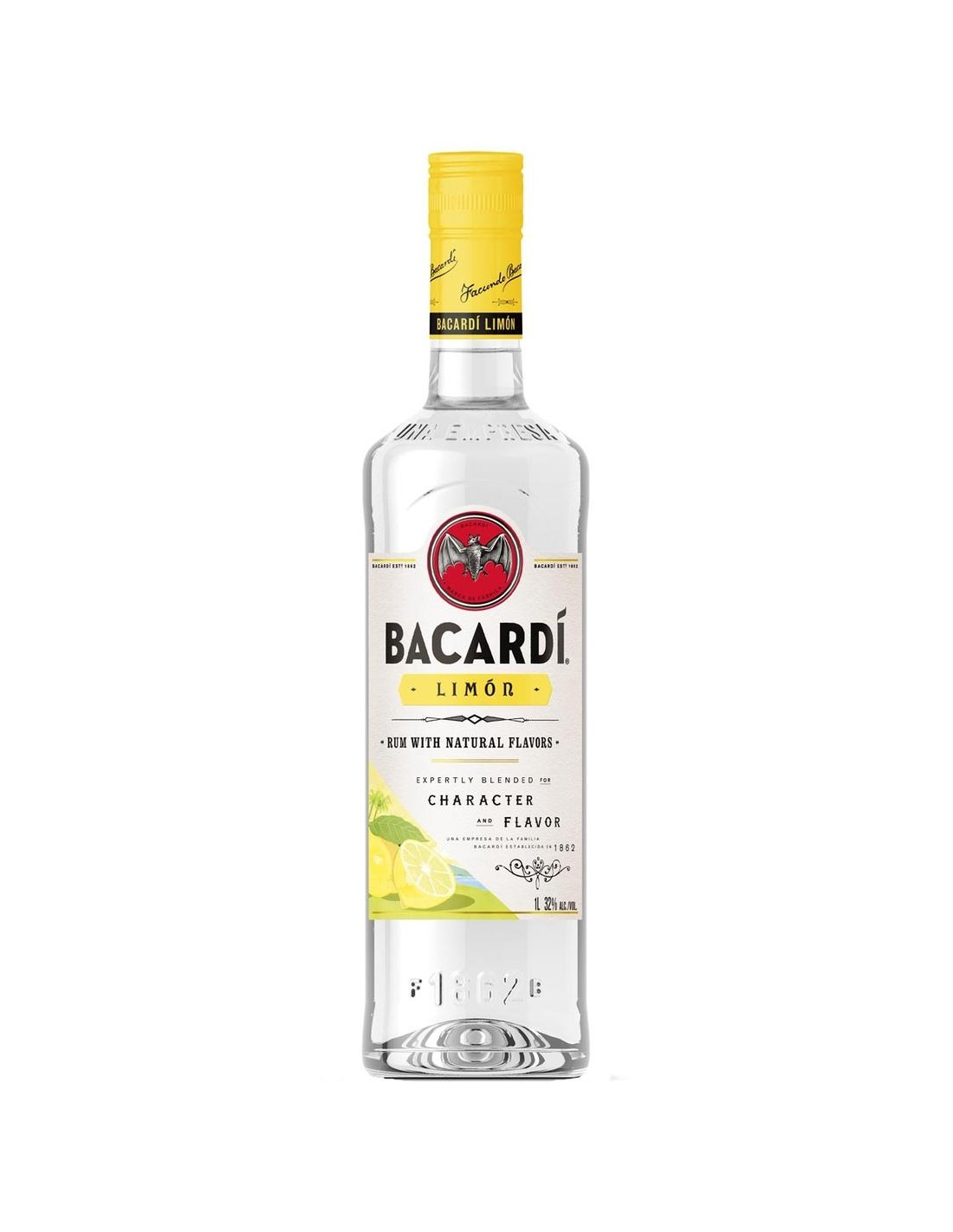 Rom Bacardi Limon, 1L, 32% alc., Cuba