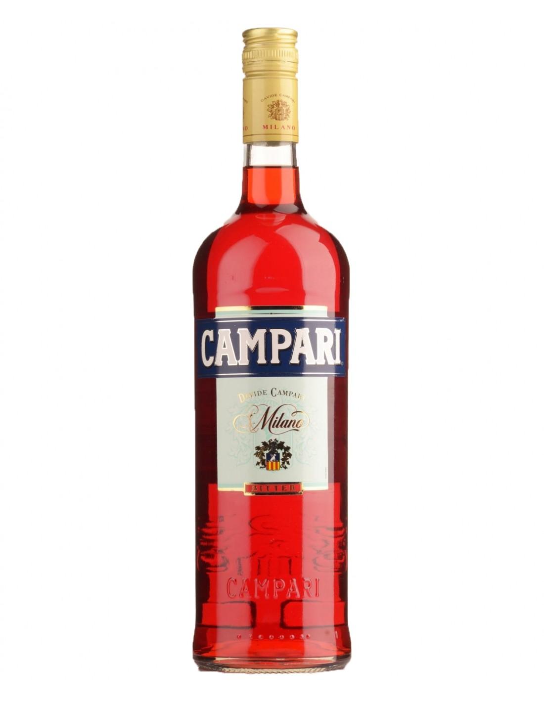 Vermut Campari Bitter, 28.5% alc., 1L, Italia