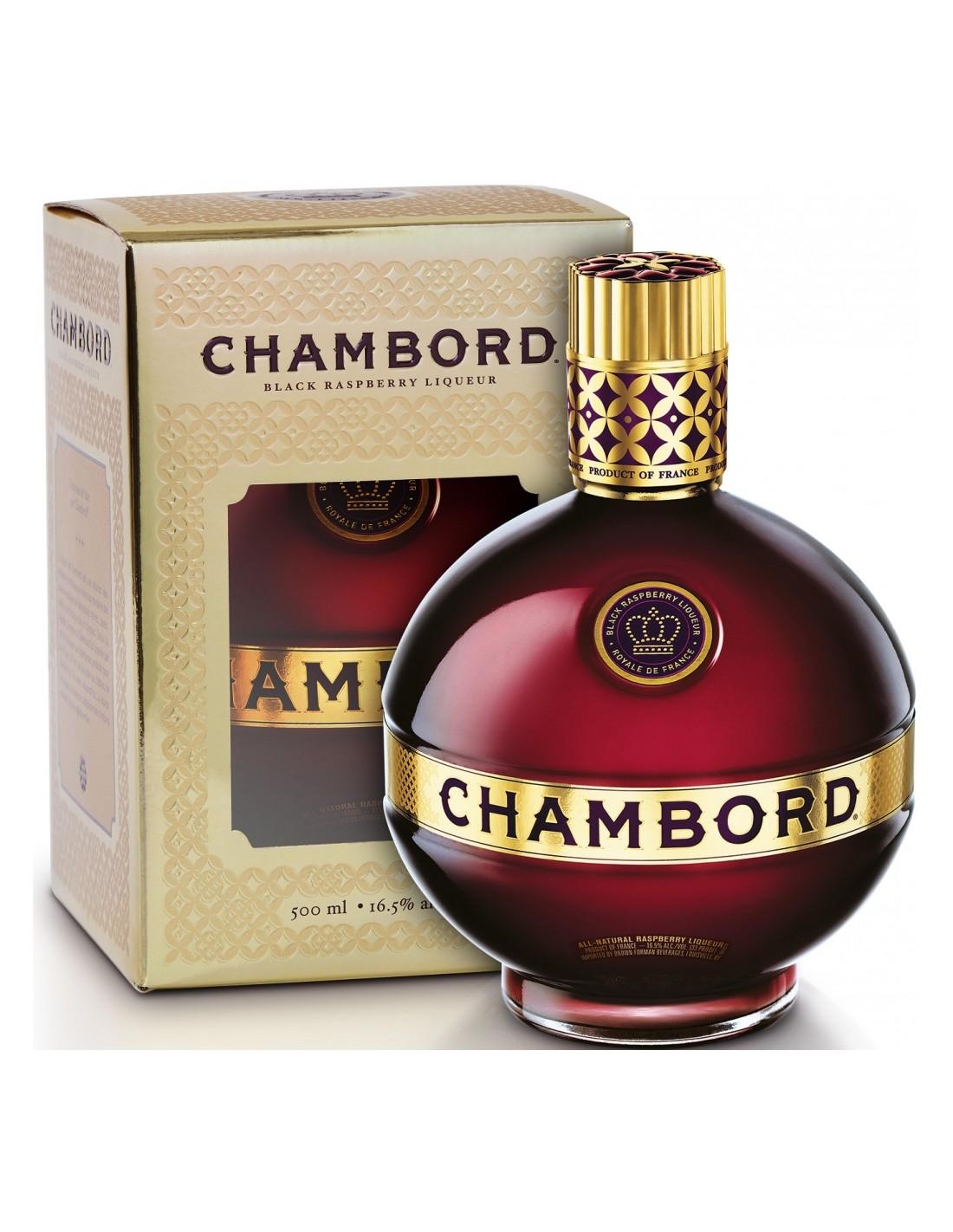 Lichior Chambord Royale, 16.5%, 0.5L, Franta