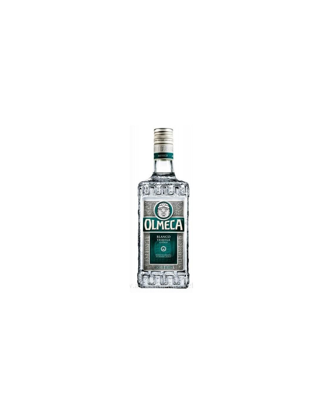 Tequila alba Olmeca Silver Blanco 0.7L, 38% alc., Mexic