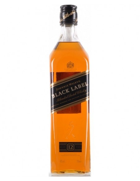 JOHNNIE WALKER BLACK LABEL 12 YO