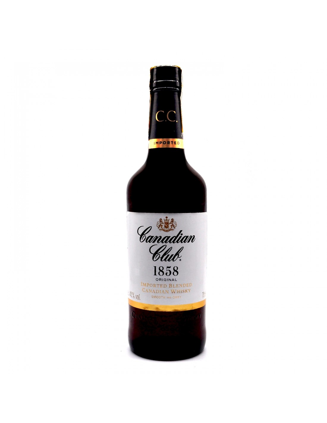 Whisky Canadian Club, 40% alc., 0.7L, Canada