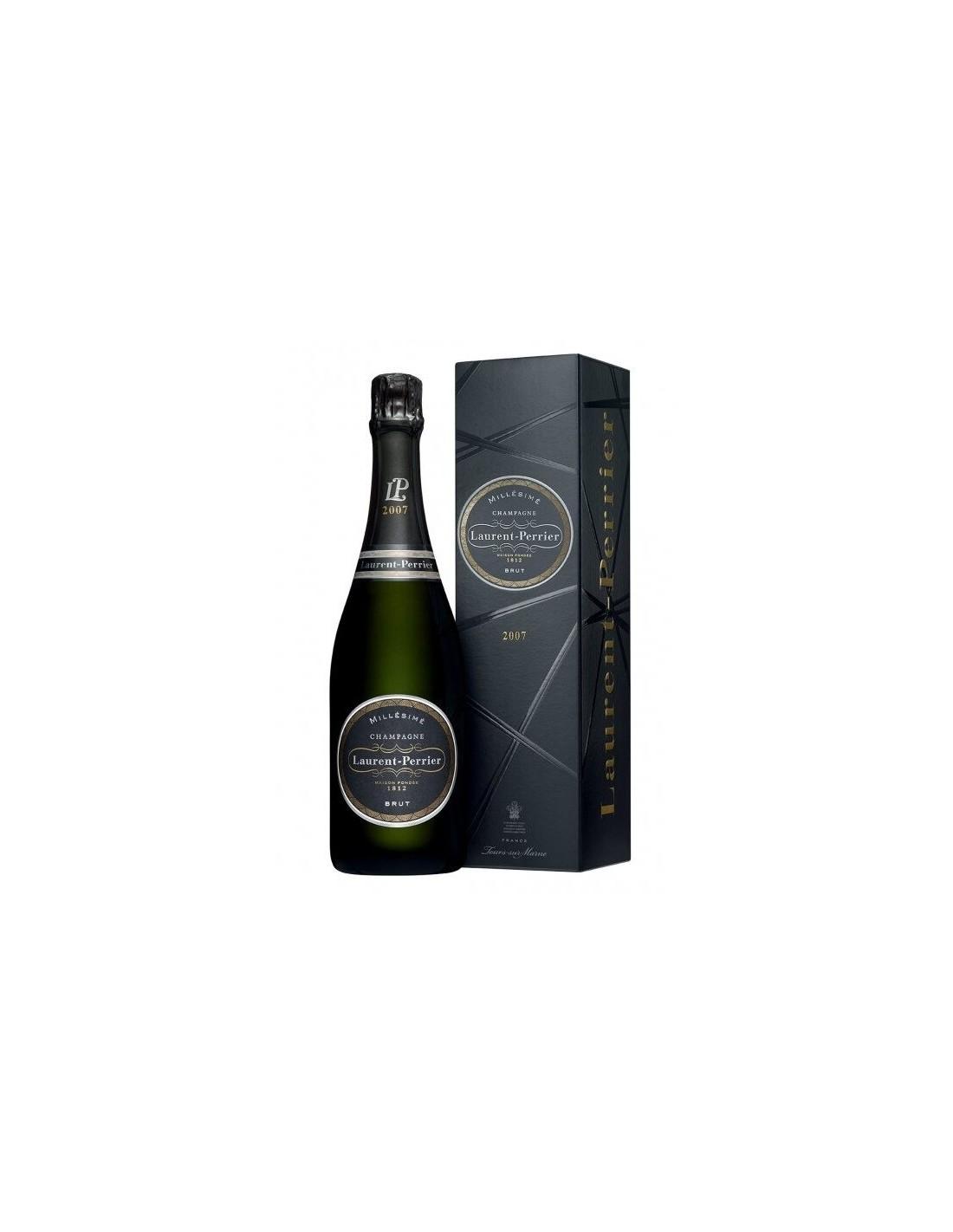 Sampanie Cupaj, Laurent Perrier Millesime Brut Champagne, 0.75L, 12% alc., Franta