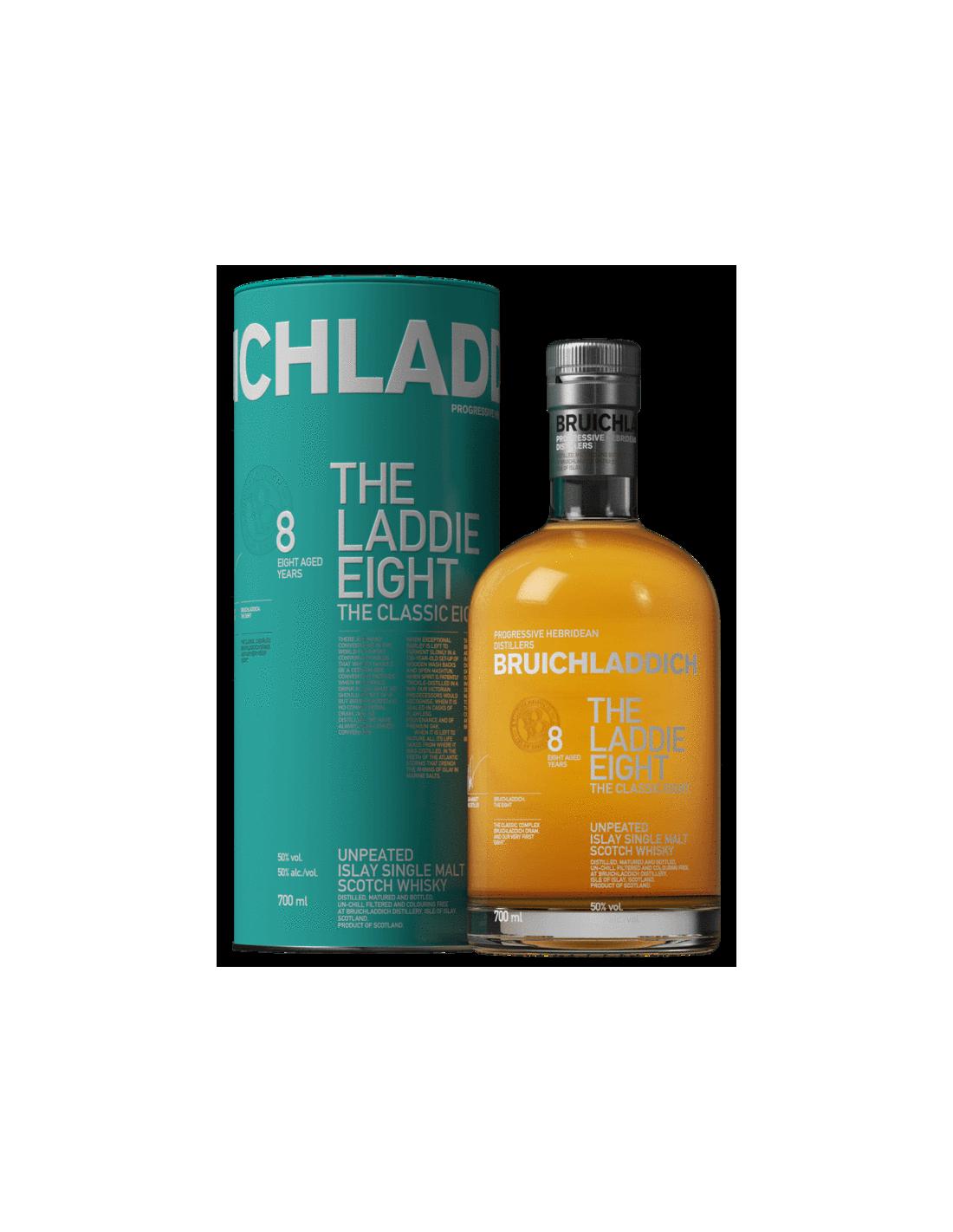 Whisky Bruichladdich The Ladie, 50% alc., 0.7L, Scotia