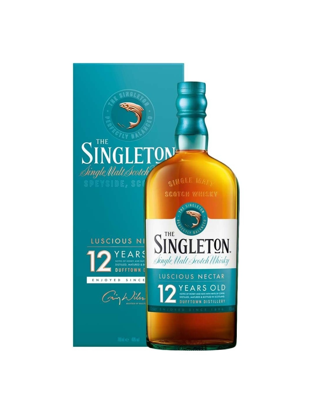 Whisky The Singleton Of Dufftown, 12 ani, 40% alc., 0.7L, Scotia
