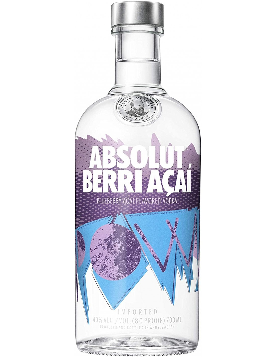 Vodca Absolut Berri Acai 0.7L, 40% alc., Suedia