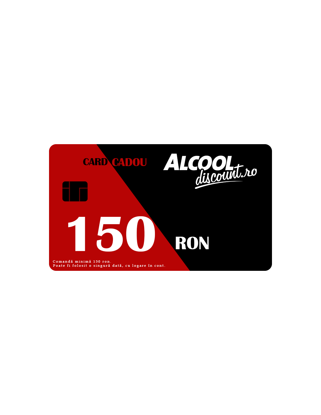 CARD CADOU 150 RON