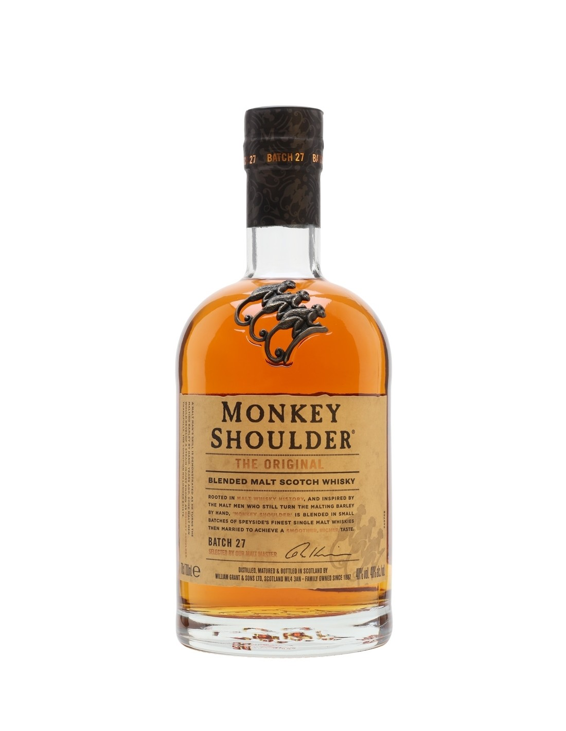 Whisky Monkey Shoulder, 40% alc., 0.7L, Scotia