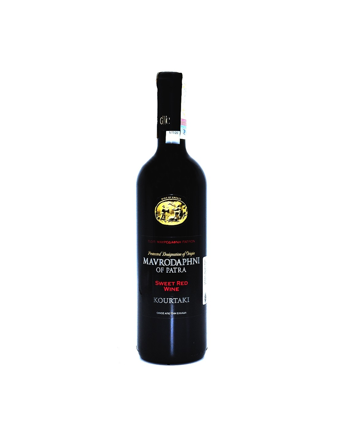 Vin rosu dulce, Korinthiaki Mavrodaphne of Patras , 0.75L, 15% alc., Grecia