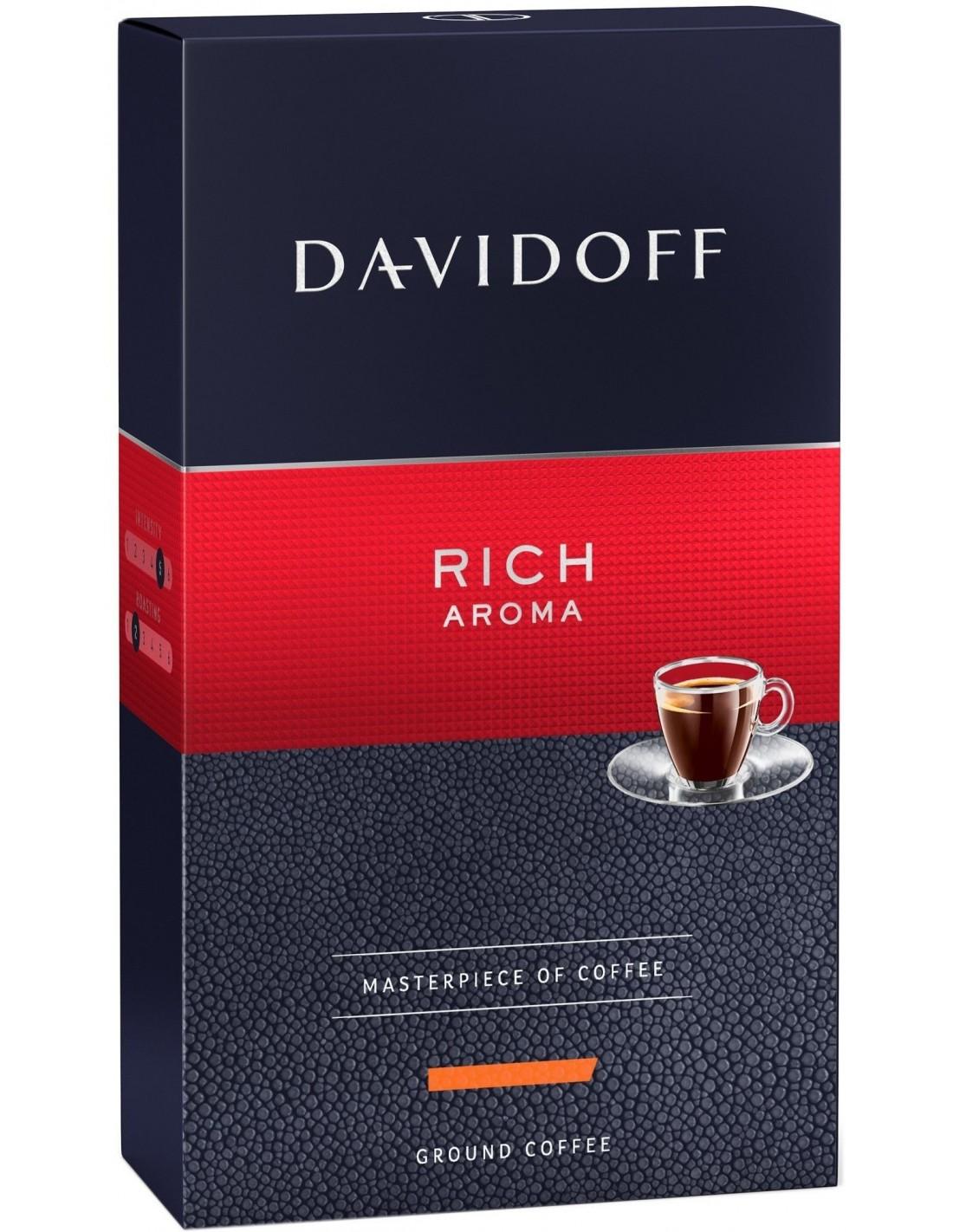Cafea macinata Davidoff Rich Aroma, 250g
