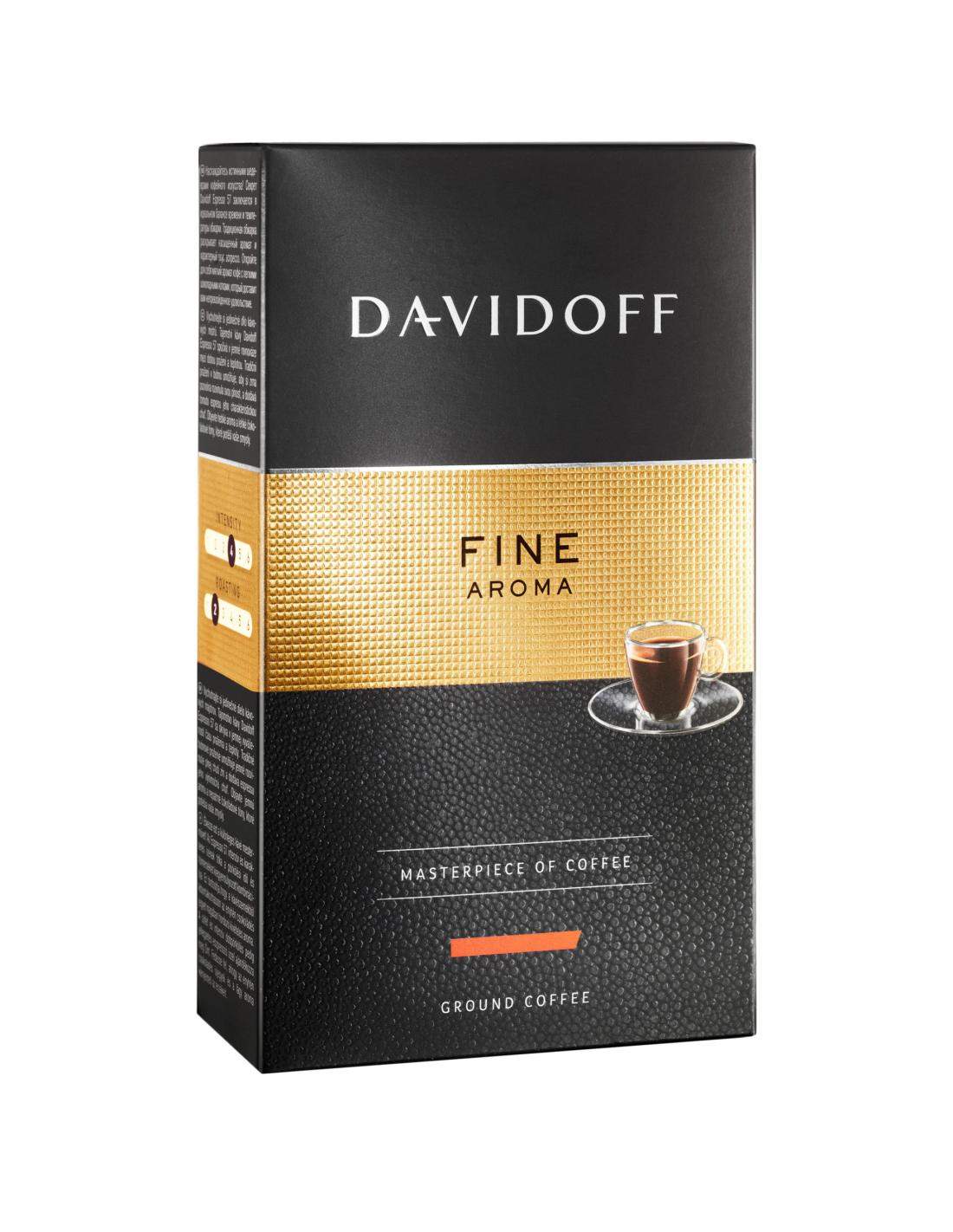 Cafea macinata Davidoff Fine Aroma, 250g