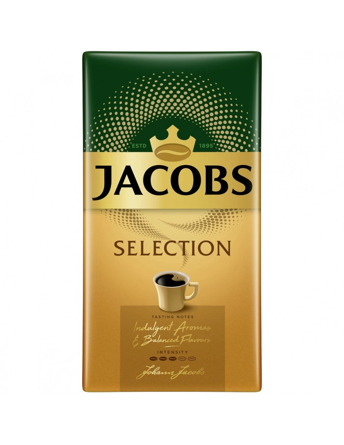 Cafea prajita si macinata Jacobs Selection, 250g