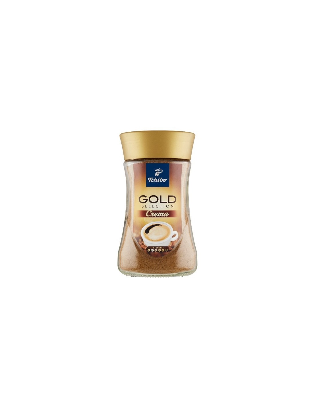 Cafea instant Tchibo Gold Selection Crema, 180g