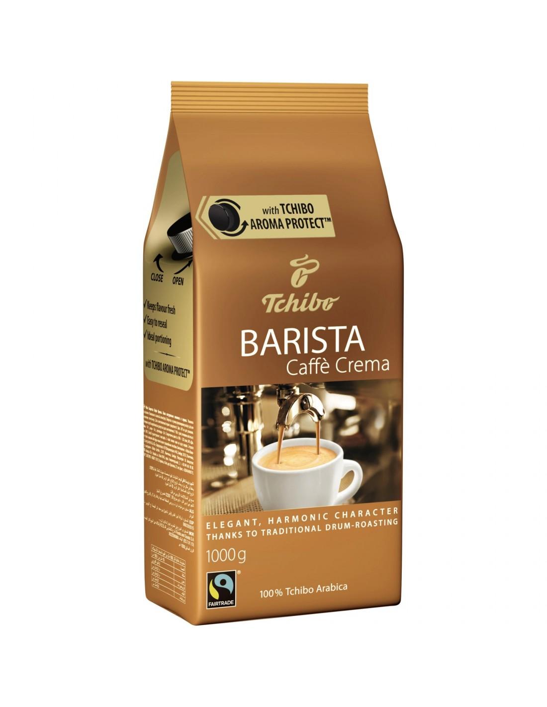 Cafea boabe Tchibo Barista Crema, 1kg