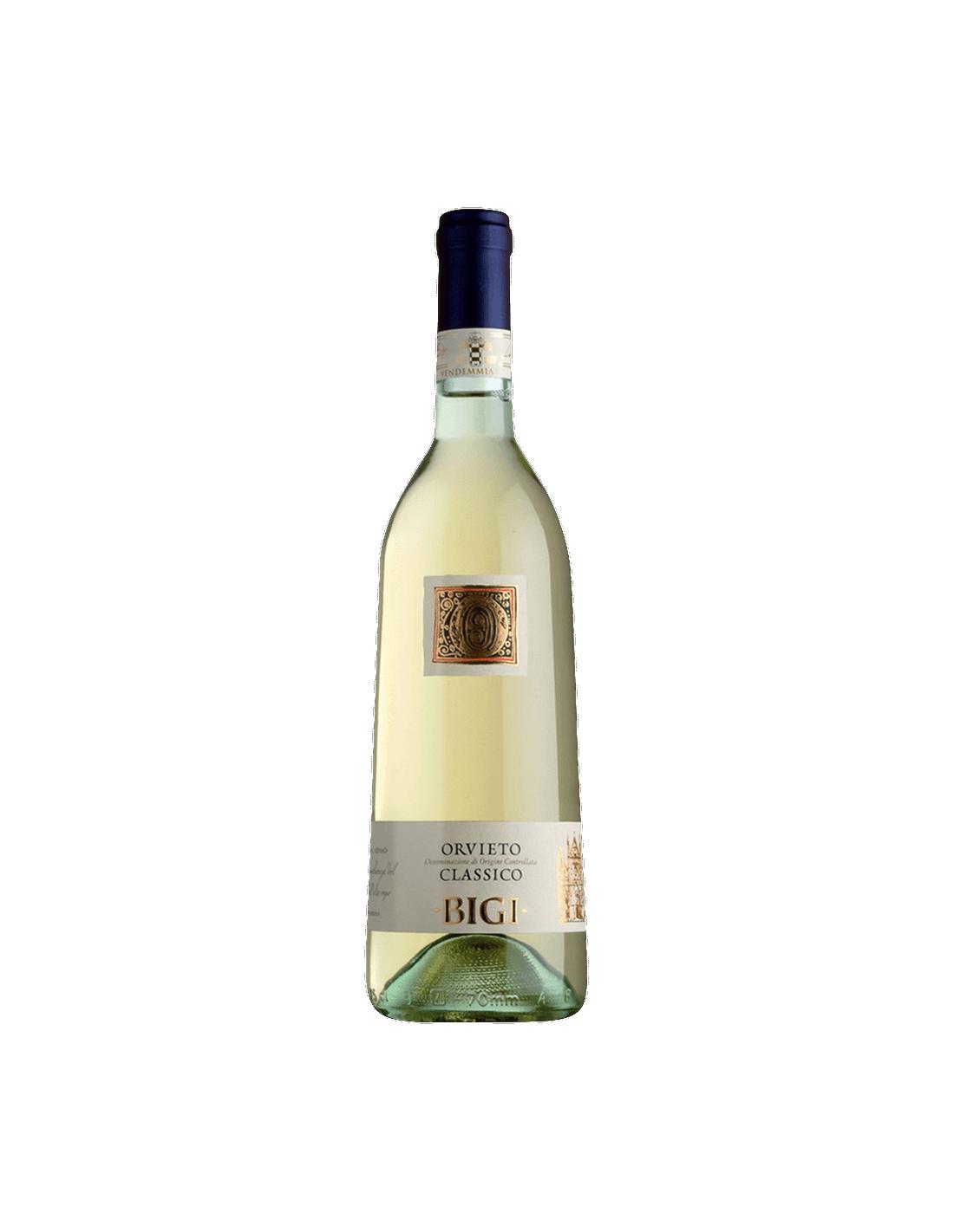 Vin alb, Cupaj, Bigi Orvieto, 0.75L, 12.5% alc., Italia