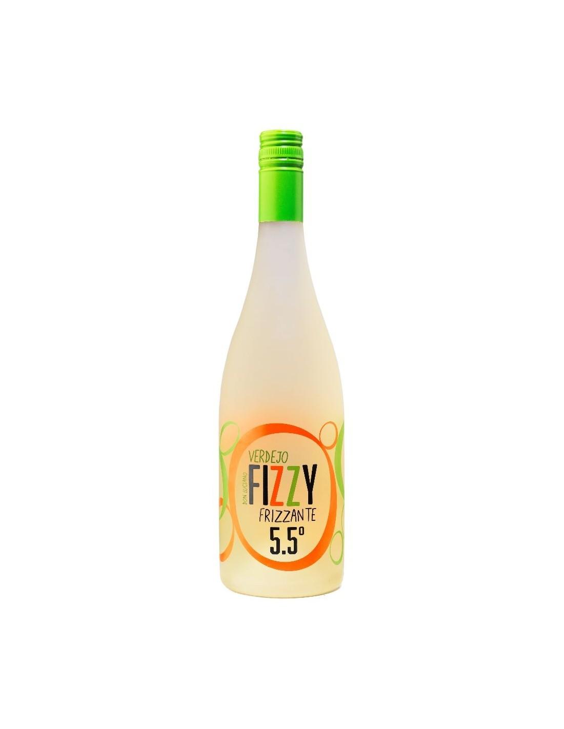 Vin spumos frizzante alb Verdejo, Fizzy Frizzante, 0.75L, 5.50% alc.,