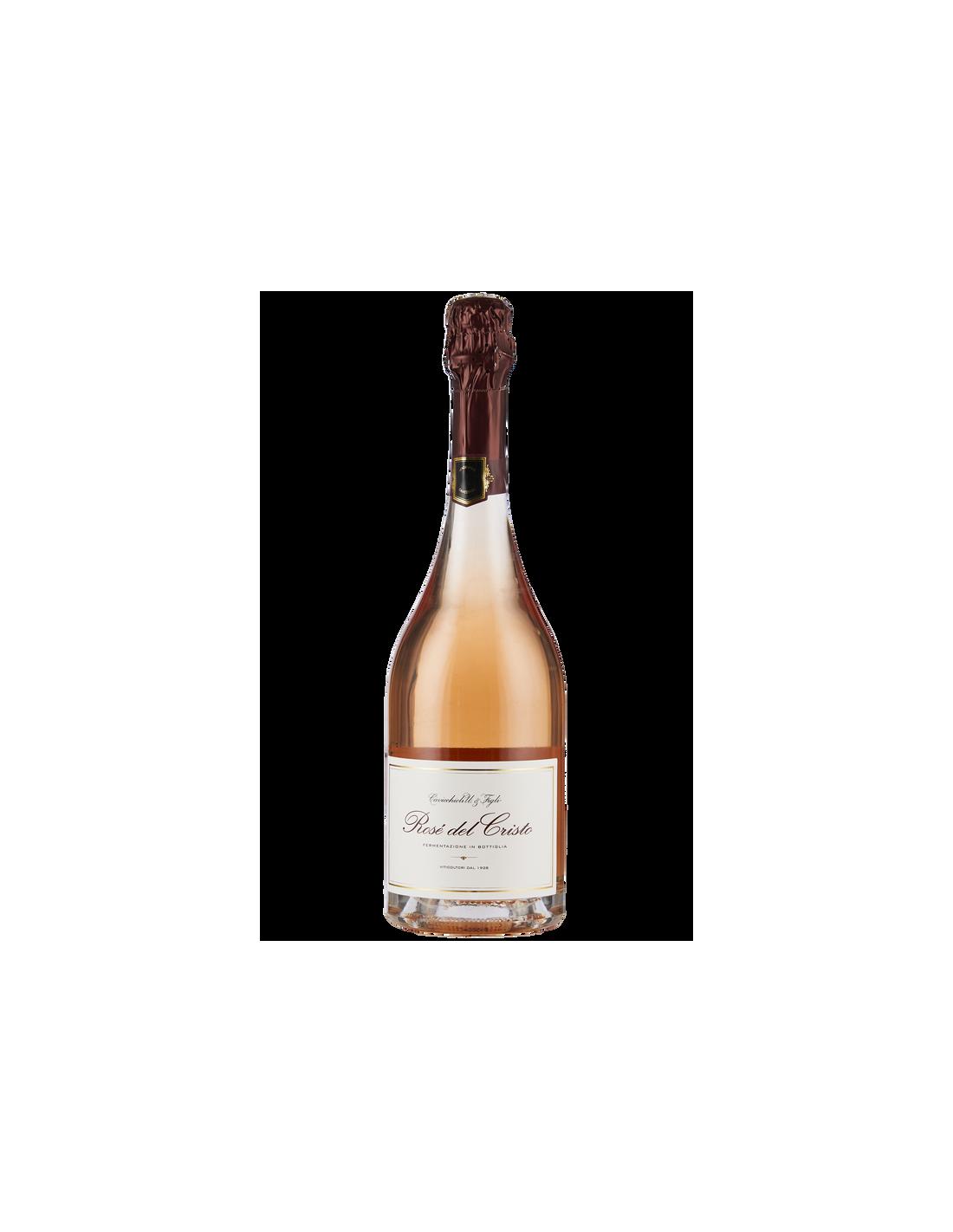 Vin spumant sec Lambrusco Di Sorbara, Cavicchioli Emilia-Romagna, 0.75L, 11% alc., Italia