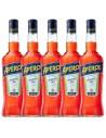 Pachet 5 sticle Aperitiv Aperol, 11% alc., 1L, Italia