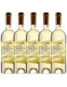 Pachet 5 sticle Vin alb sec Kouros, Nemeas, 12.5% alc., 0.75L, Grecia
