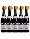 Pachet 5 sticle Vin frizzante Lambrusco, Villa Veroni Amabile Emilia, 0.75L, 8% alc., Italia