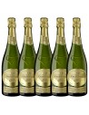 Pachet 5 sticle Vin spumant alb, Chardonnay, Jaume Serra Gran Reserva, 11.5% alc., 0.75L, Spania