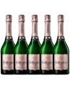 Pachet 5 sticle Vin spumant roze sec, Geldermann Baden, 0.75L, 12% alc., Germania