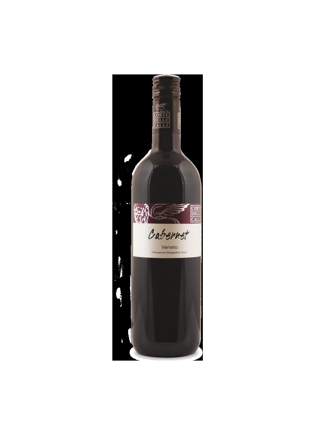Vin rosu, Cabernet, Corte Delle Calli Veneto, 12% alc., 075L, Italia