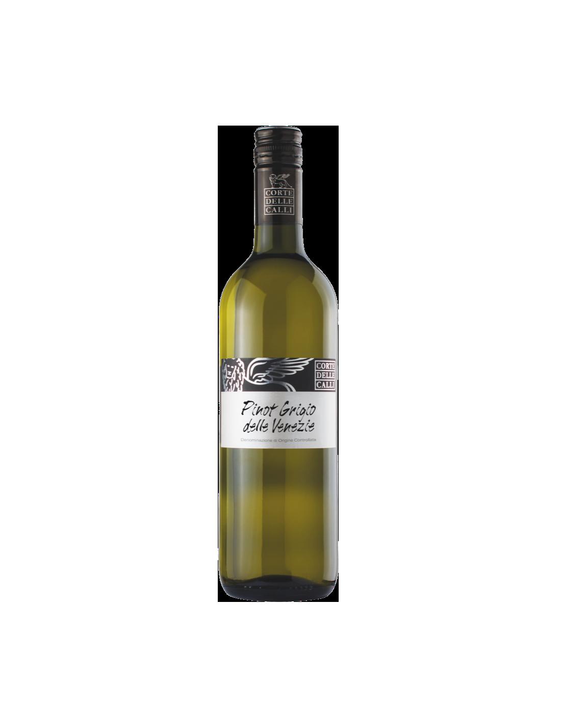 Vin alb, Pinot Grigio, Corte Delle Calli delle Venezie, 12% alc., 0.75L, Italia
