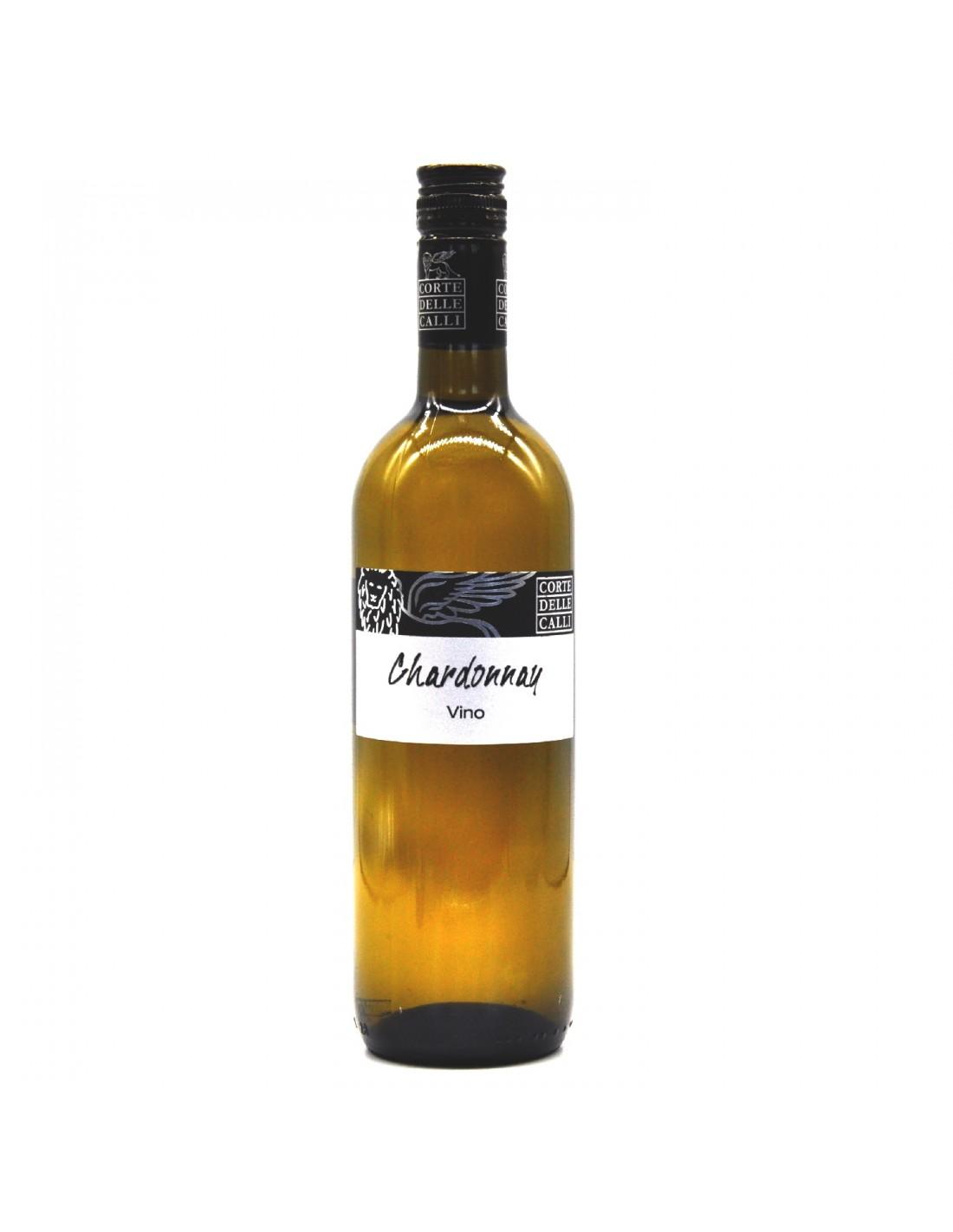 Vin alb, Chardonnay, Corte Delle Calli Conegliano, 11.5% alc., 0.75L, Italia
