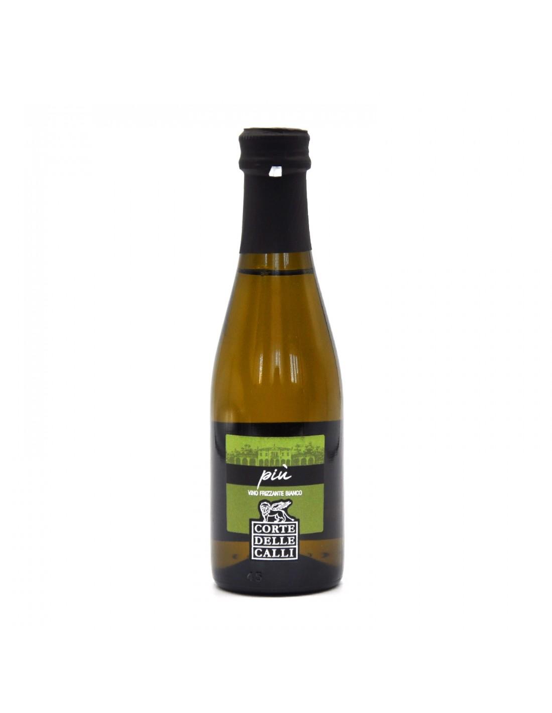 Vin alb frizzante, Corte Delle Calli Piu Conegliano, 10.5% alc., 0.2L, Italia