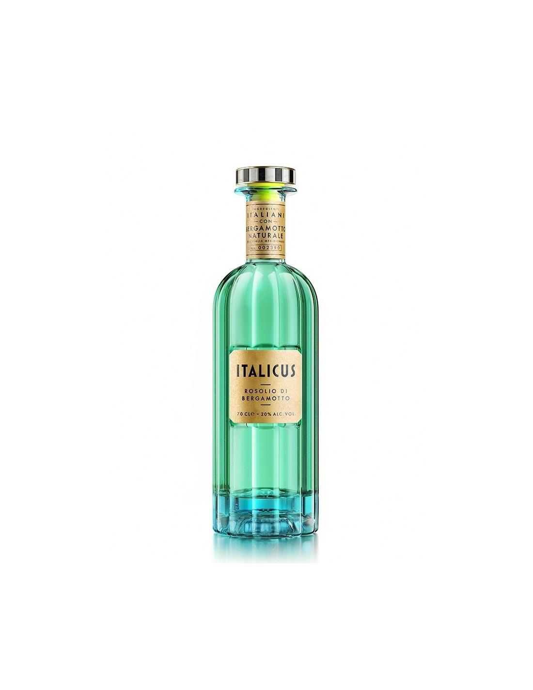 Lichior Italicus Rosolio di Bergamotto, 20% alc., 0.7L, Italia