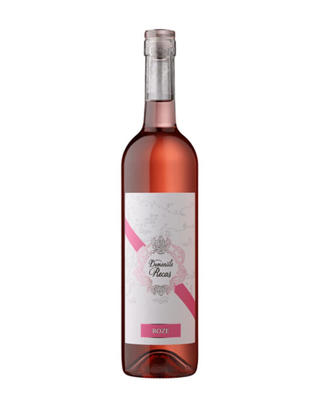 Vin roze demisec, Cupaj, Domeniile Recas, 12.5% alc., 0.75L, Romania