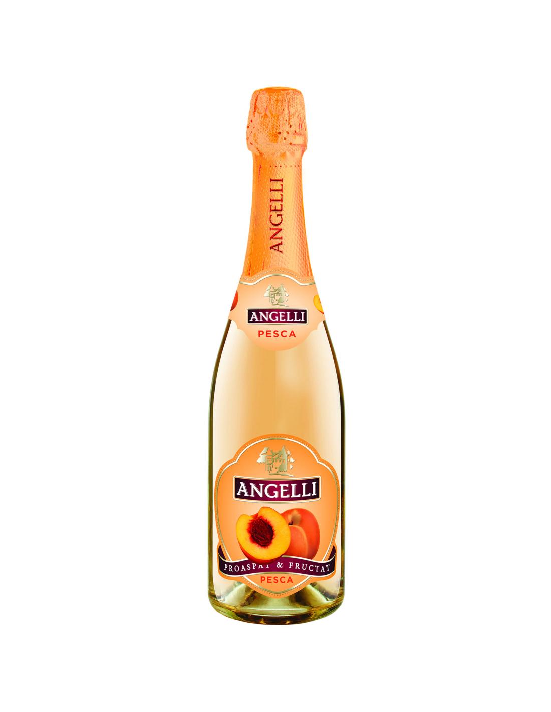 Cocktail Angelli cu aroma de piersica, 7% alc., 0.75L, Romania