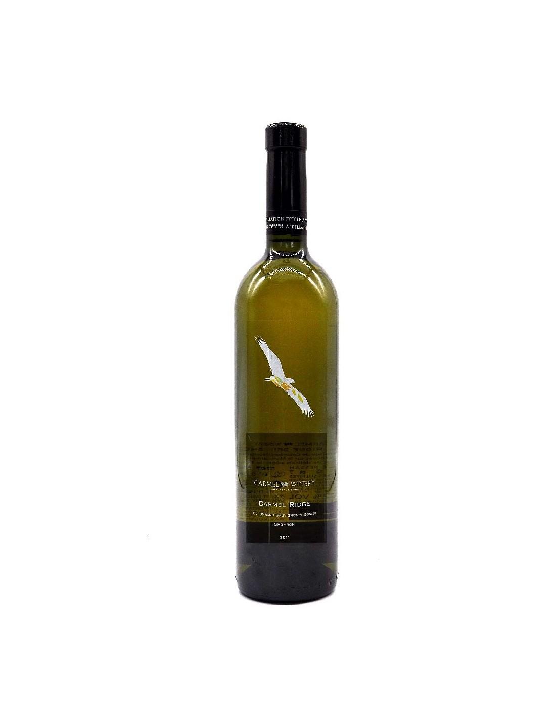 Vin alb, Cupaj, Carmel Ridge, 12% alc., 0.75L, Israel