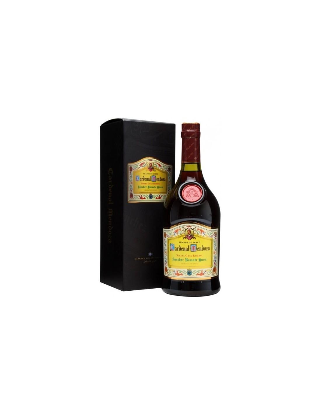 Coniac Brandy Cardenal Mendoza Solera Gran Reserva 40% alc., 0.7L, Spania
