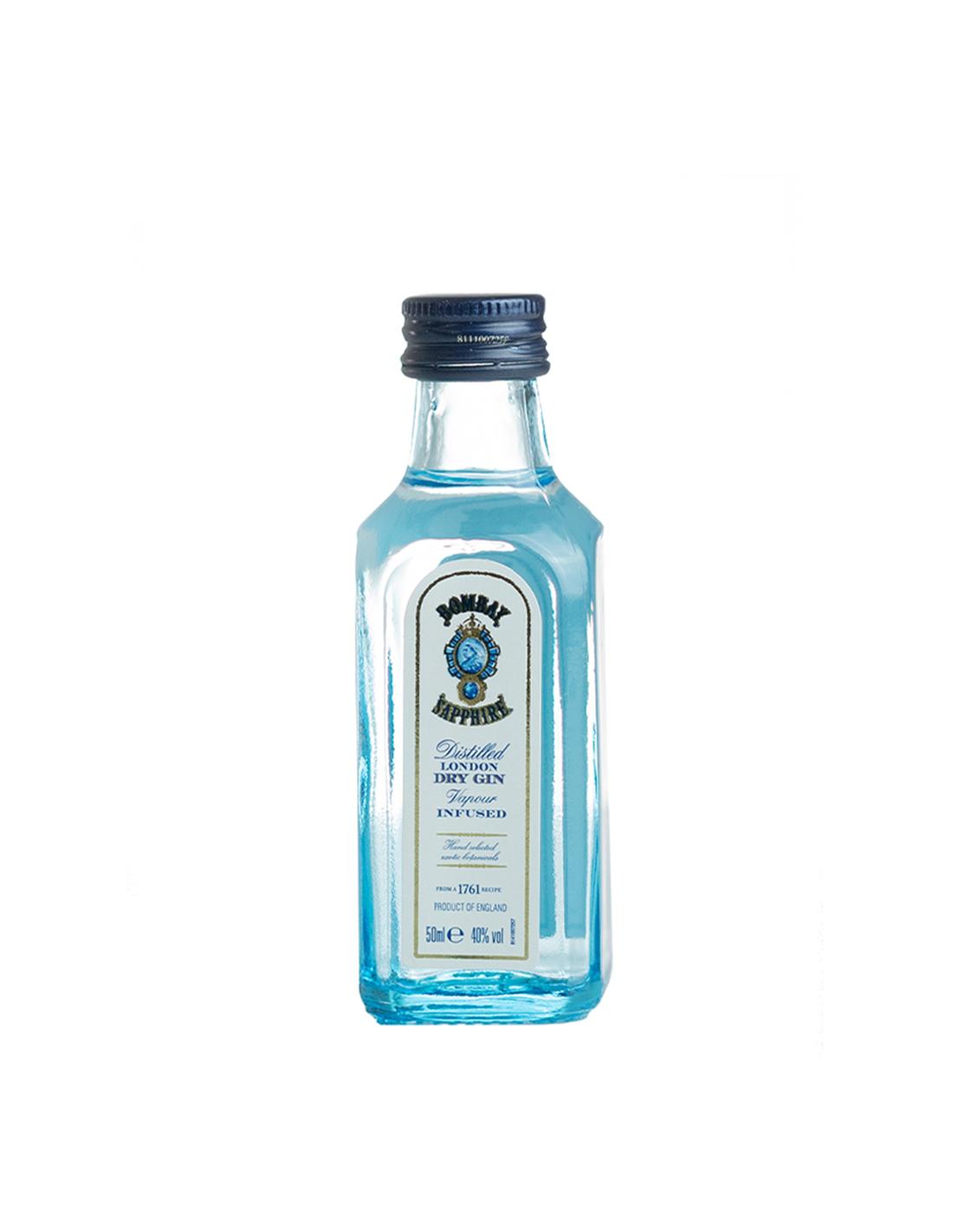 Gin Bombay Sapphire, 40% alc., 0.05L, Anglia