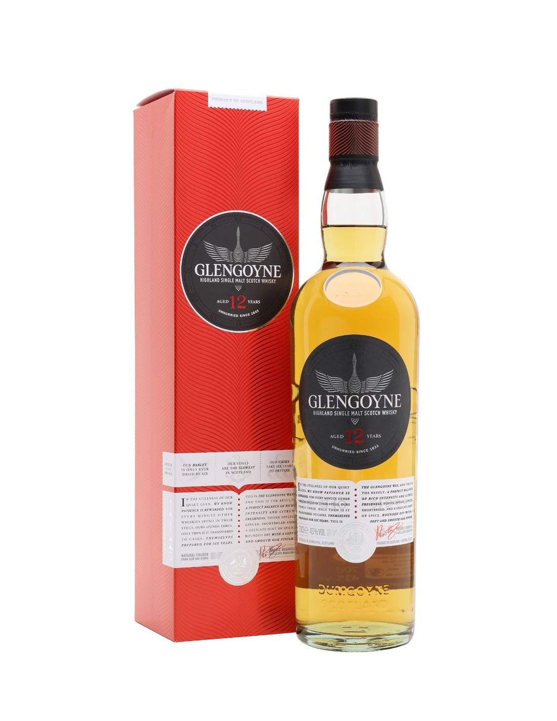 Whisky Glengoyne , 12 ani, 43% alc., 0.7L, Scotia