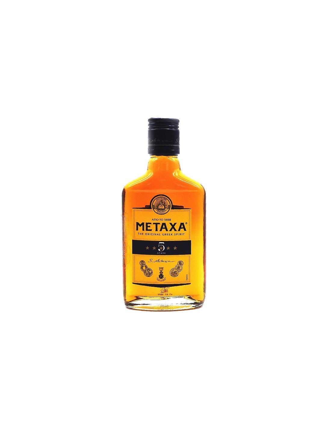 Brandy Metaxa 5*, 38% alc., 0.02L, Grecia