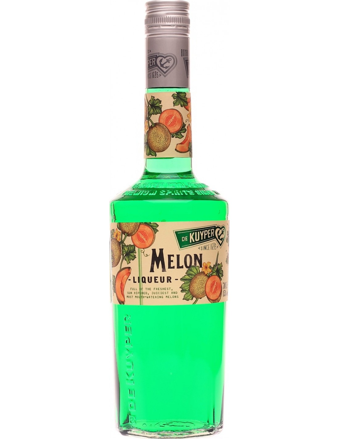 Lichior De Kuyper Melon, 24% alc., 0.7L, Olanda