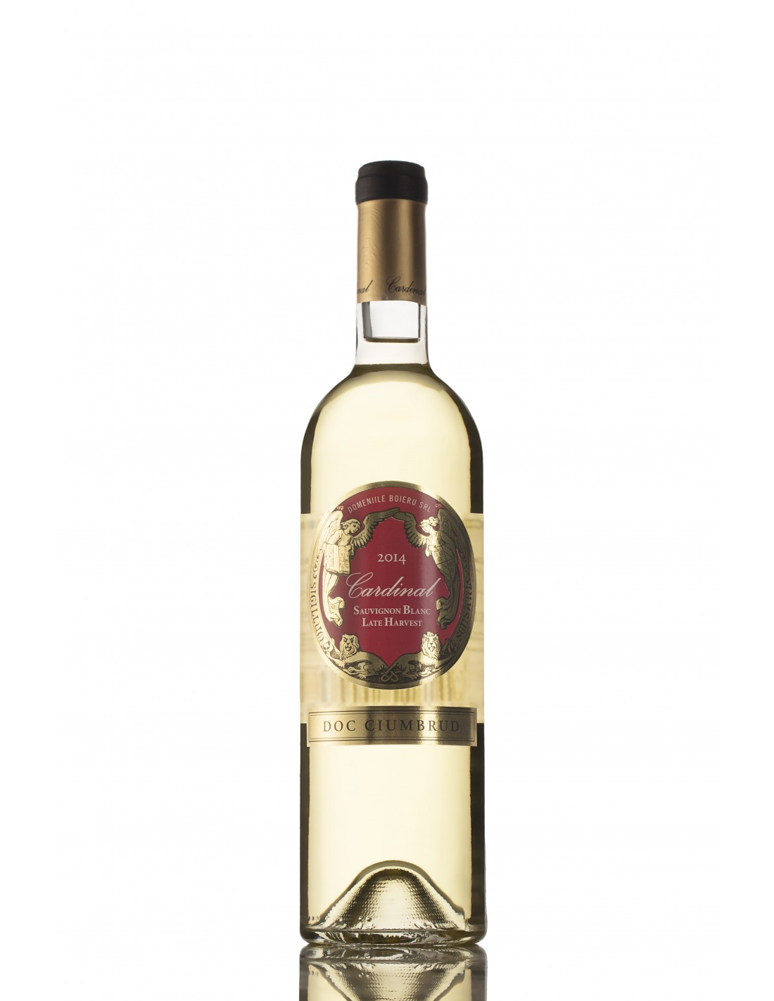 Vin alb demidulce, Sauvignon Blanc, Cardinal, Ciumbrud, 13% alc., 0.75L, Romania