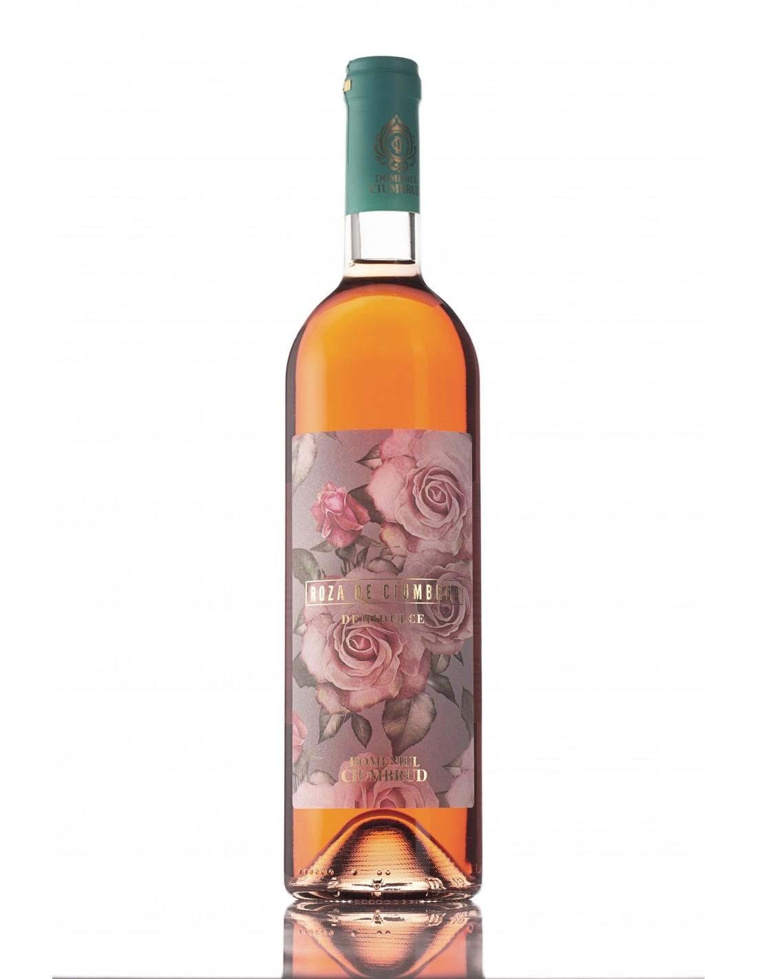 Vin rose demidulce, Feteasca Neagra & Pinot Noir, Roza de Ciumbrud, 12% alc., 0.75L, Romania