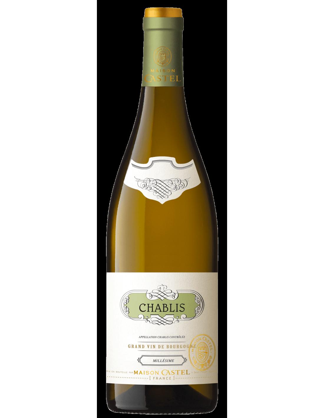 Vin alb, Maison Castel Chablis, 12.5% alc., 0.75L, Franta